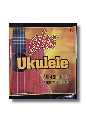 GHS Nylon with Tie Ends Ukulele Strings - Varsity Music Shop
