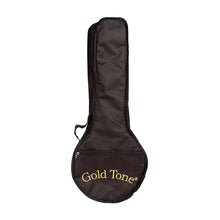 Load image into Gallery viewer, Gold Tone Little Gem see-through concert banjo-ukulele w/ bag - Varsity Music Shop