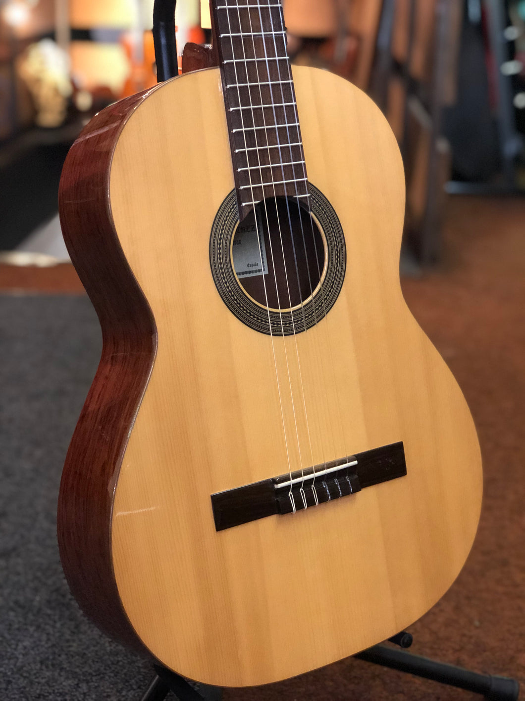 Antonio Sanchez - S20 Hand made Spanish Classical guitar Solid Pino Top - Varsity Music Shop