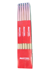 Maxtone Drumstick Bundle! Pack of 12 Nylon Tip 7A's - Varsity Music Shop