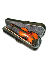 Load image into Gallery viewer, *Special Price* Nashville 1/2 Size Violin Outfit in Satin Finish - Varsity Music Shop