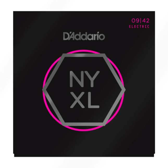 D'Addario NYXL Nickel Wound Electric Guitar Strings - Choose Your Gauge! - Varsity Music Shop