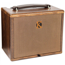 Load image into Gallery viewer, KINSMAN 25W ACOUSTIC AMPLIFIER WITH CHORUS ~ MAINS/BATTERY POWERED - Varsity Music Shop