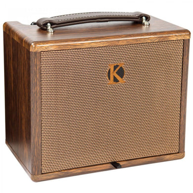 KINSMAN 25W ACOUSTIC AMPLIFIER WITH CHORUS ~ MAINS/BATTERY POWERED