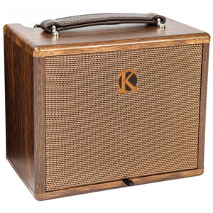 KINSMAN 25W ACOUSTIC AMPLIFIER WITH CHORUS ~ MAINS/BATTERY POWERED - Varsity Music Shop