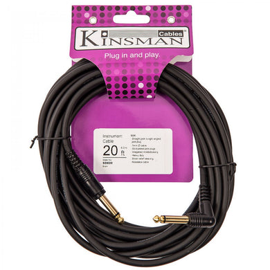 KINSMAN SDX INSTRUMENT LEAD/ CABLE - 20FT/6M - Varsity Music Shop