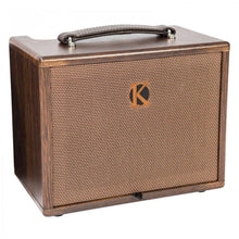 Load image into Gallery viewer, KINSMAN 45W ACOUSTIC AMP ~ MAINS/BATTERY POWER - Varsity Music Shop
