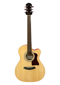 Rivertone LG-182C Acoustic Guitar with Cutaway - Varsity Music Shop