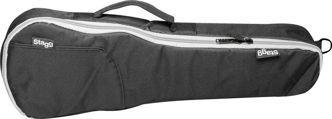 Stagg Padded Nylon Gig Bag for Soprano Ukulele - Varsity Music Shop