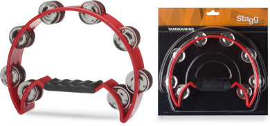 Half Moon Tamborine - Choose Your Colour! - Varsity Music Shop