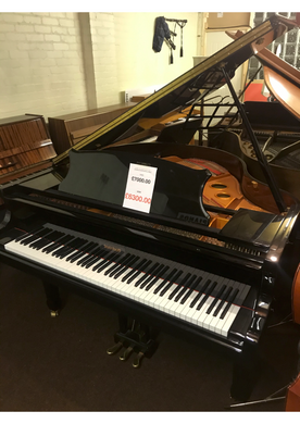Black Steinhoff Baby Grand (5'2'') - Varsity Music Shop