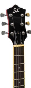 SX Semi-Acoustic 335 Style - Cherry Red - Varsity Music Shop