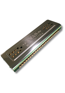 Swan 24 Hole Harmonica Double Sided (Key C&G) - Varsity Music Shop