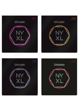 D'Addario NYXL Nickel Wound Electric Guitar Strings - Choose Your Gauge!