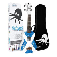 Load image into Gallery viewer, Octopus Ukulele Outfit Saltire Design - Varsity Music Shop