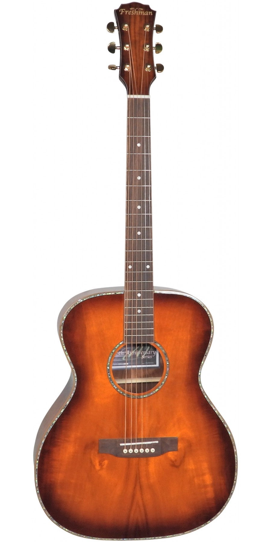 Freshman 20th Anniversary Series FALTDKOAO OM Acoustic Guitar All Koa - Varsity Music Shop