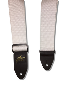 "GHS 2"" Webbed Nylon Guitar Straps with Heavy Duty Leather Ends - Choose Your Colour! - Varsity Music Shop"
