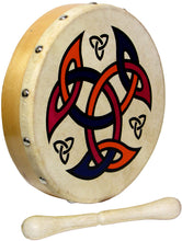 "Load image into Gallery viewer, Glenluce 8"" Bodhran with Beater - Choose Your Design! - Varsity Music Shop"