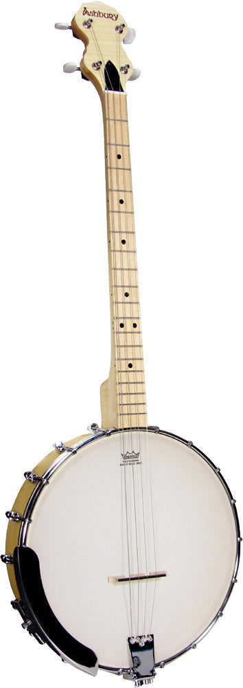 Ashbury Openback Tenor Banjo - Maple Rim - Varsity Music Shop