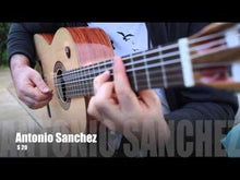 Load and play video in Gallery viewer, Antonio Sanchez - S20 Hand made Spanish Classical guitar Solid Pino Top