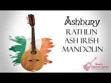 Load and play video in Gallery viewer, Ashbury 'Rathlin' Mandolin