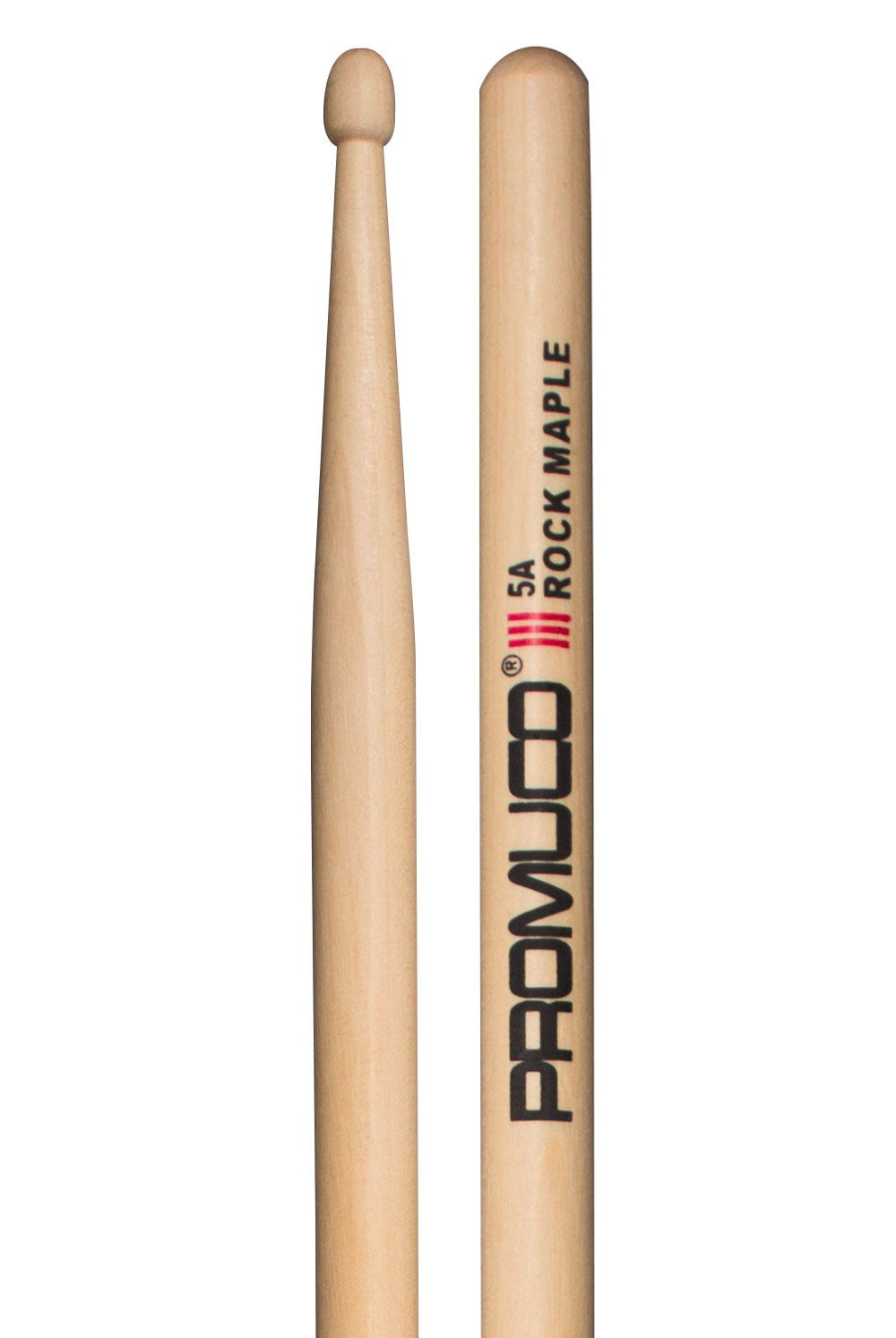 PROMUCO DRUMSTICKS - ROCK MAPLE 5A - Varsity Music Shop