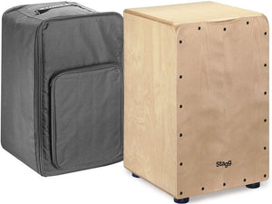 Stagg CAJ-50 Standard Birch Cajon w/Gig Bag - Varsity Music Shop