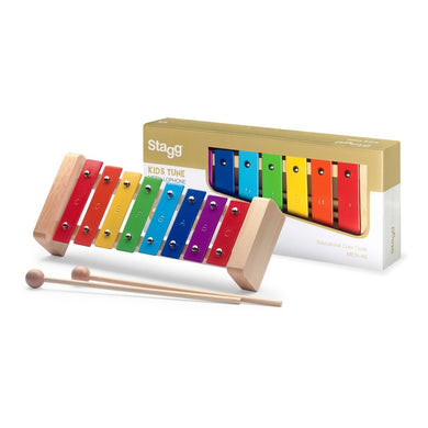 Stagg 8 Note Glockenspiel - Rainbow Keys - Varsity Music Shop