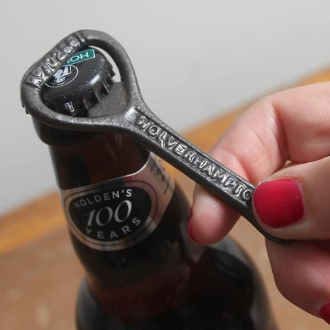Hand Held Cast Iron Bottle Opener