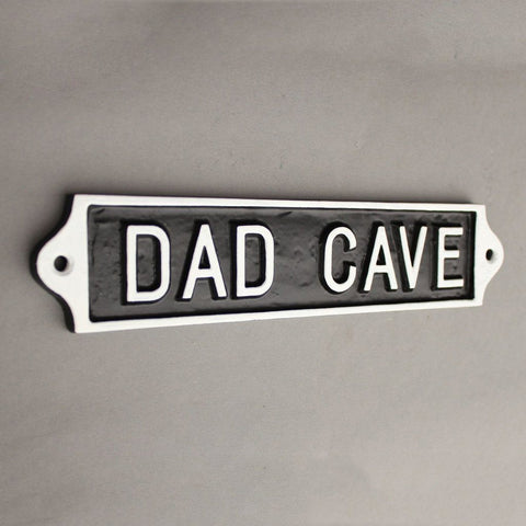 Large Dad Cave Sign
