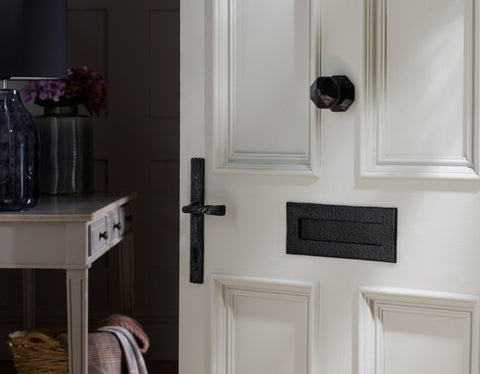 Door Knob, Letter Plate and Lever Handle