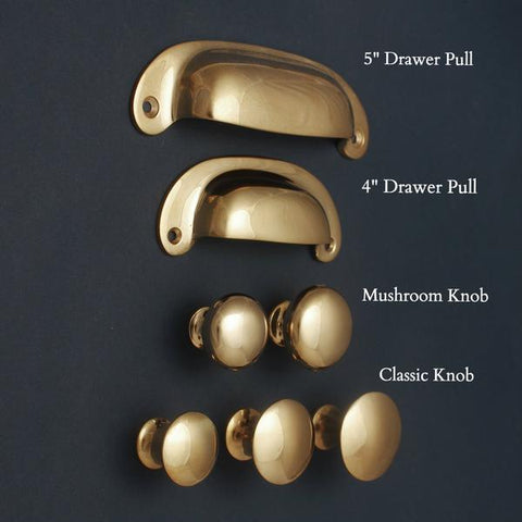Our Polished Brass Cabinet Handles Are Stunning Cupboard Knobs And Drawer  Cup Pull Handles Made From Solid Cast Brass.