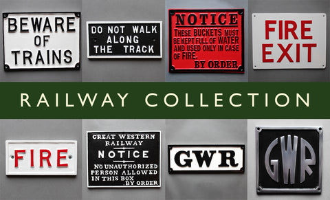 Vintage Railways Plaque Selection