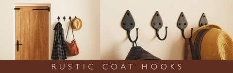 Cast Iron Hat And Coat Hooks
