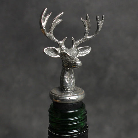 Stag Wine Bottle Stopper