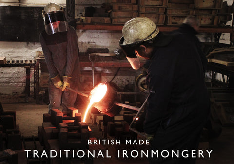 Traditional British Foundry Casting Iron