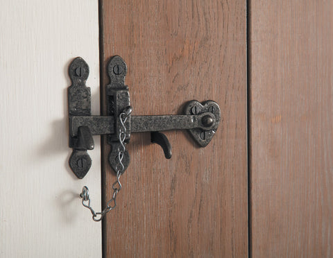 Black Iron Thumb Latch