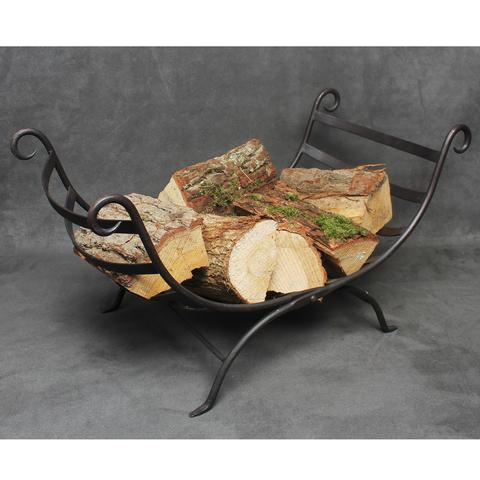 Iron Folding Log Basket