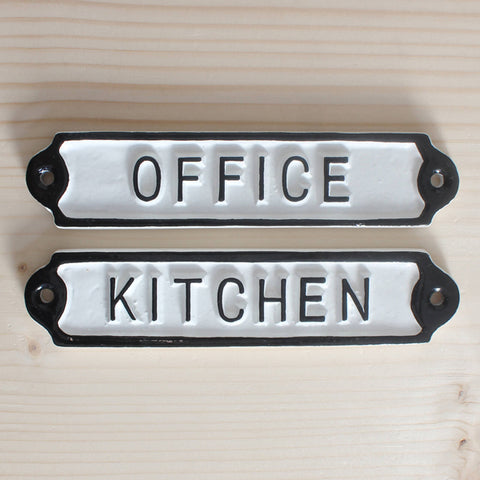 Office Kitchen Sign