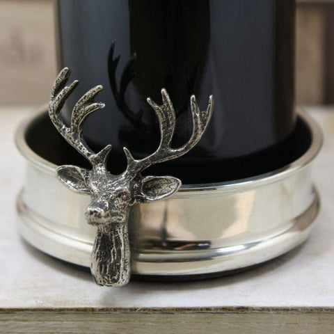 Stag Wine Bottle Coaster