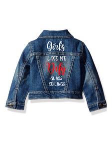 No Glass Ceilings Denim Jacket