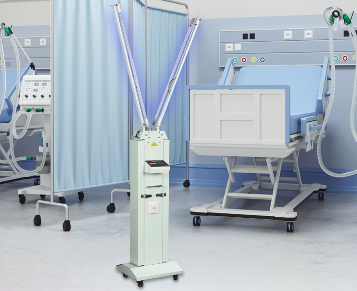 Fighting Covid-19 With Mobile UVC Sterilizer Unit for Hospitals