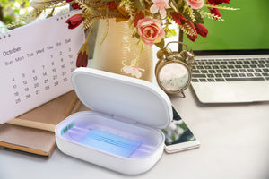 Portable UV Phone Sanitizer with Wireless Charger |  UVC Deals