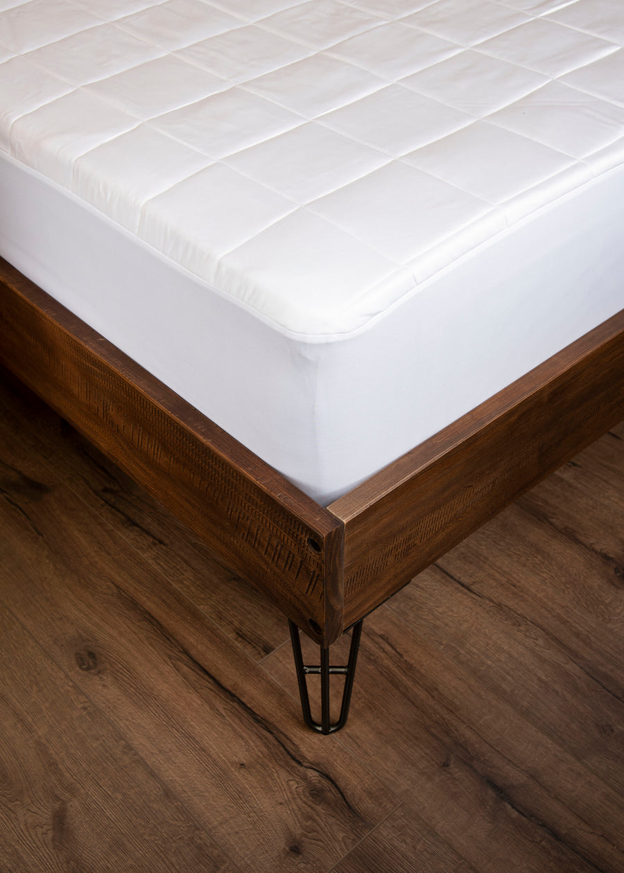 bamboo mattress pad secure fit