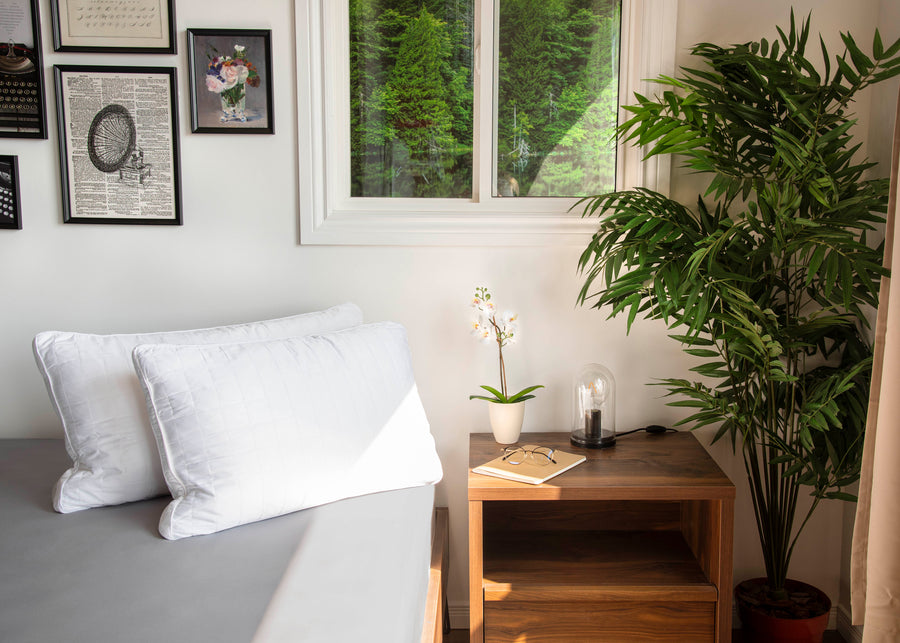 bamboo pillows lifestyle image