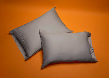 pewter bamboo pillow cases product shot