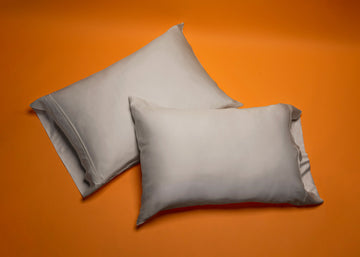 silver bamboo pillow cases product shot