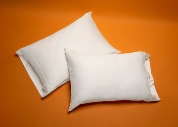 White Bamboo 2-Pk Pillow Case