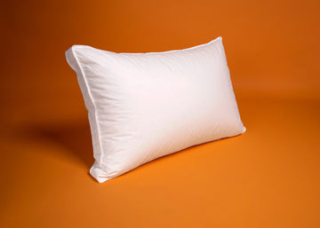 premium gusseted white duck down pillow