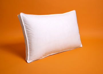 white down alternative pillow